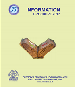 Welcome to DDCE, Utkal University, Bhubaneswar